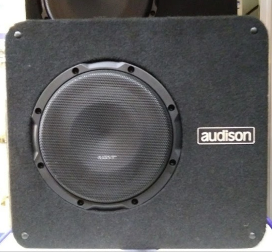 Audison speaker, image taken by KG1 Productions during their visit