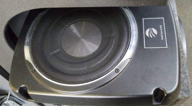 subwoofer image, taken by KG1 Productions