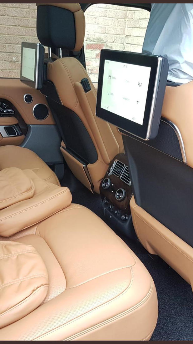 Rosen Screens On Car Seats